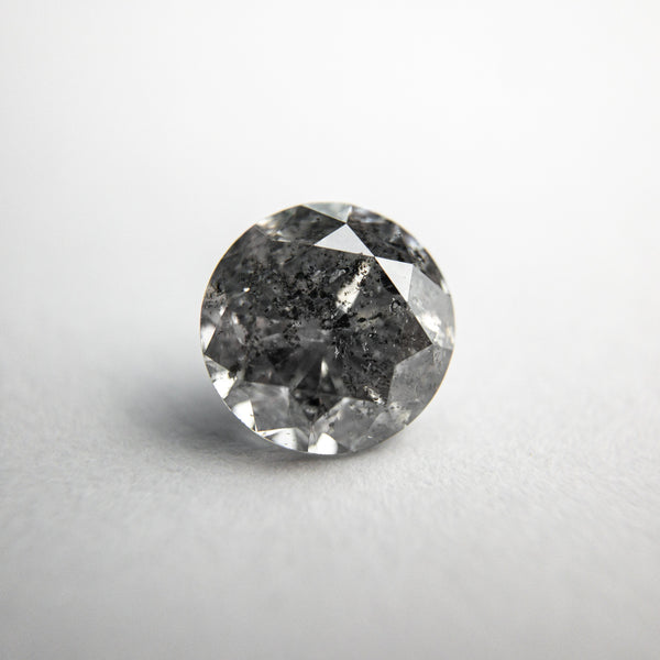 Salt and Pepper Brilliant Diamond - 1.52ct Round