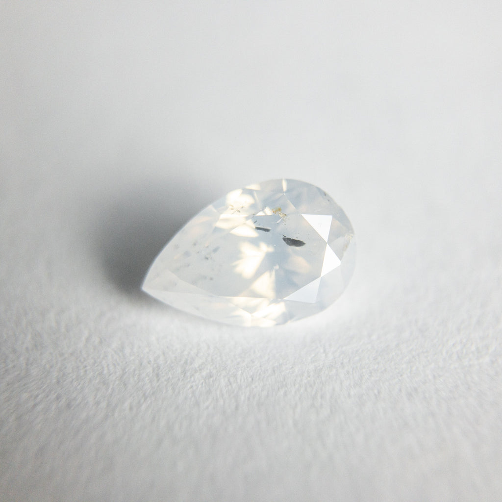 Icy Brilliant Diamond - 0.76ct Pear