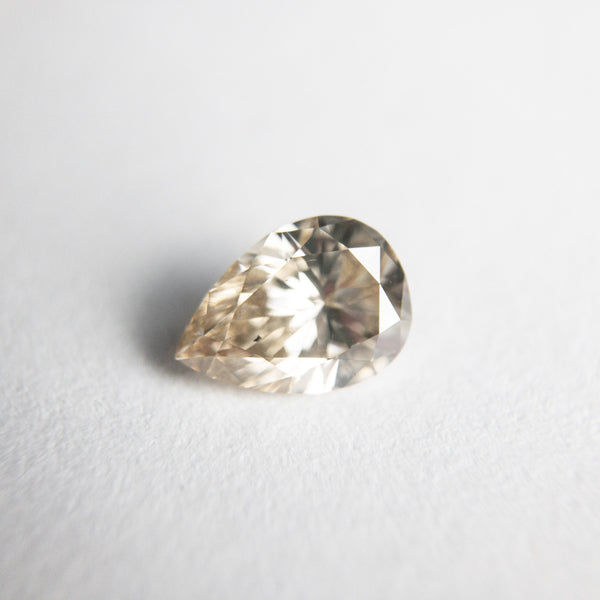 Champagne Brilliant Diamond - 0.62ct Pear