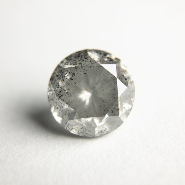 Salt and Pepper Brilliant Diamond - 2.28ct Round