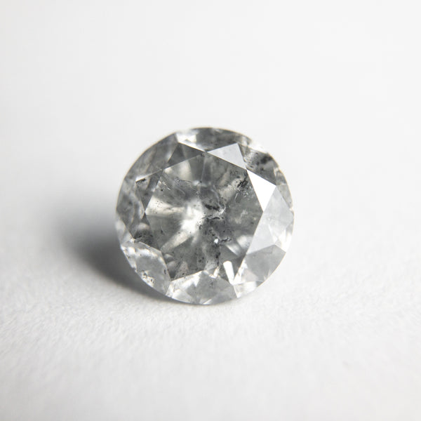 Salt and Pepper Brilliant Diamond - 1.28ct Round