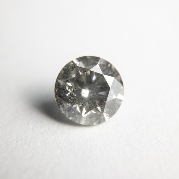 Salt and Pepper Brilliant Diamond - 1.08ct Round