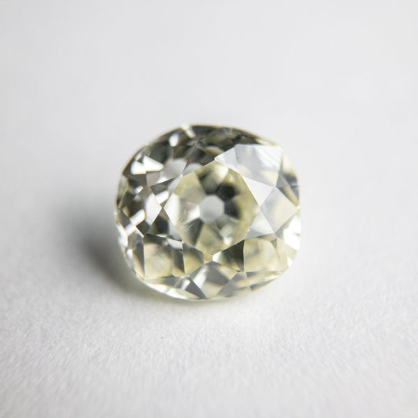 White Antique Old Mine Cut - 1.68ct Cushion