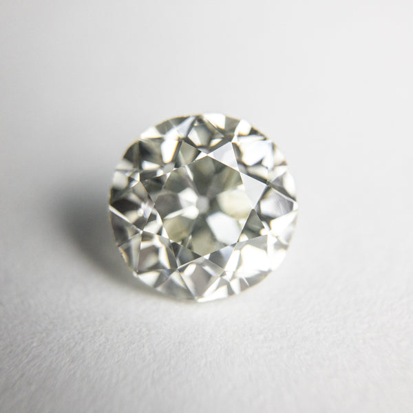 White  Antique Old European Cut Diamond - 1.87ct Round