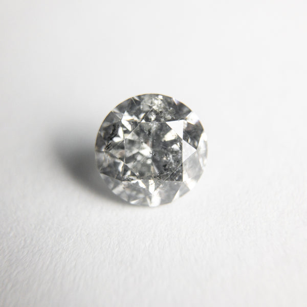 Salt and Pepper Brilliant Diamond - 0.97ct Round