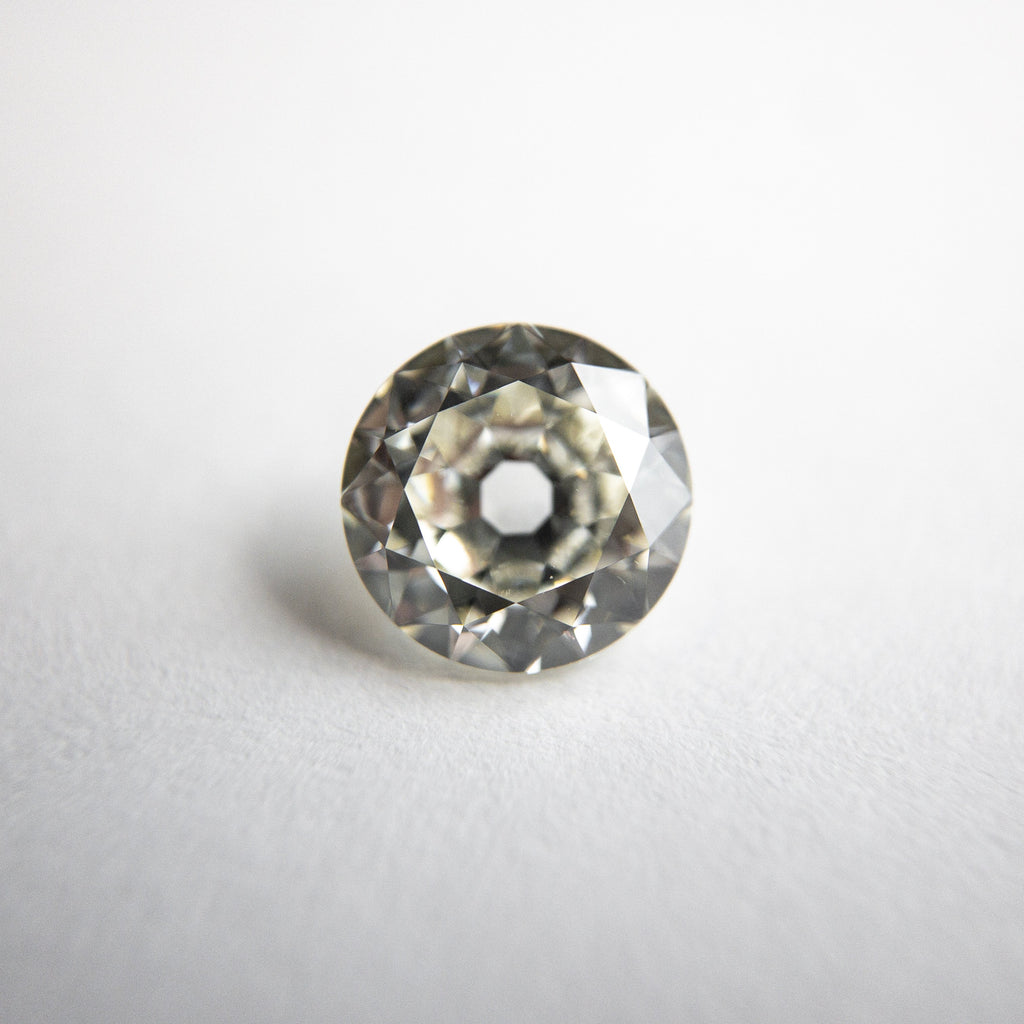 Modern White Old European Cut Diamond - 1.00ct Round