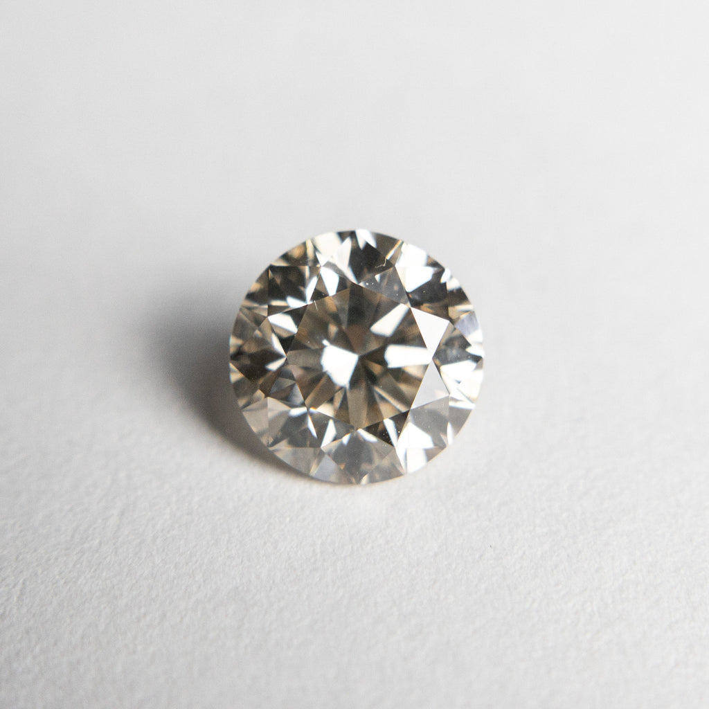 Champagne Brilliant Diamond - 1.20ct Round - Foe & Dear