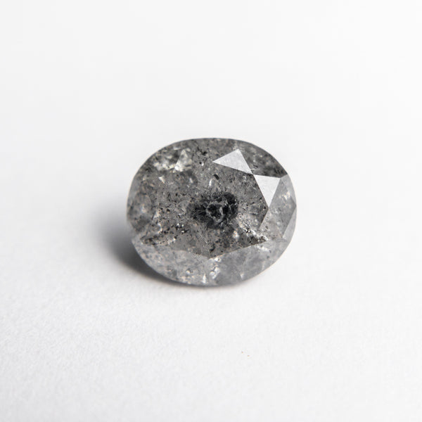 Salt and Pepper Brilliant Diamond - 1.65ct Oval