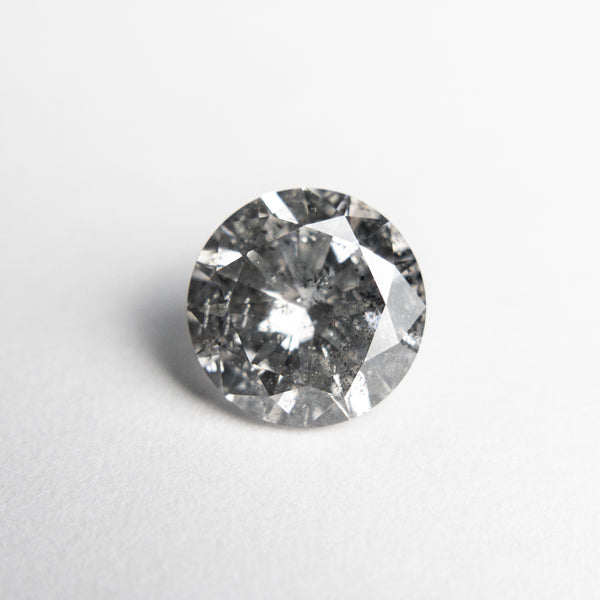 Salt and Pepper Brilliant Diamond - 1.51ct Round