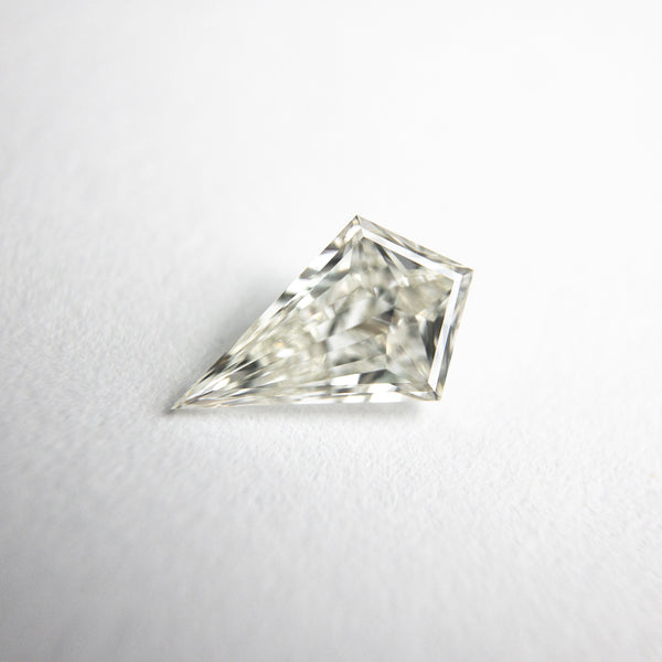 White Step Cut Brilliant Diamond - 0.59ct Kite - Foe & Dear