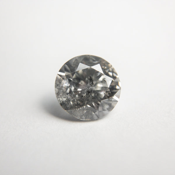 Salt and Pepper Brilliant Diamond - 1.09ct Round - Foe & Dear