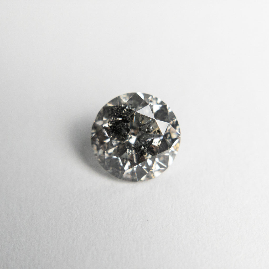 Salt and Pepper Brilliant Diamond - 1.02ct Round - Foe & Dear