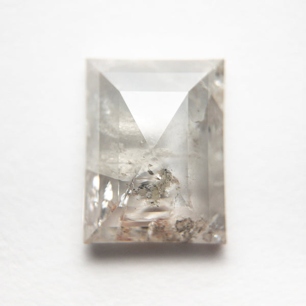 2.98ct 10.13x7.75x3.19mm Icy Baguette Rosecut 18727-01
