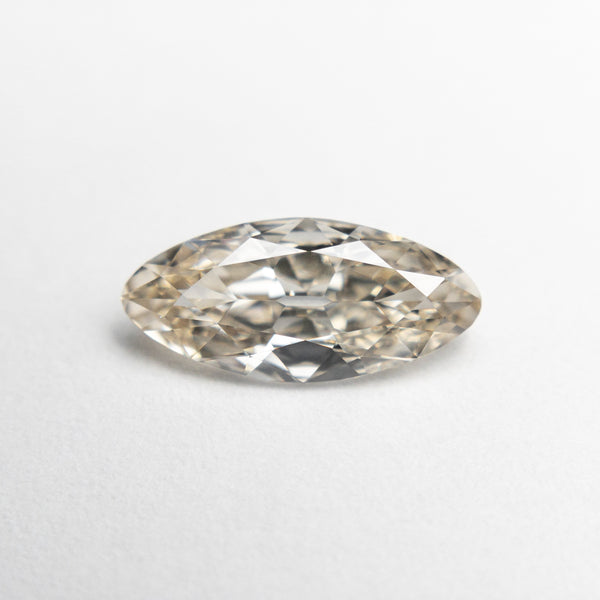 1.03ct 11.07x5.08x2.54mm VVS2 Champagne Modern Antique Moval 18883-01