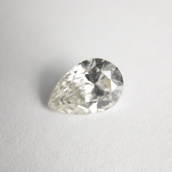 White Brilliant Diamond - 1.01ct Pear - Foe & Dear