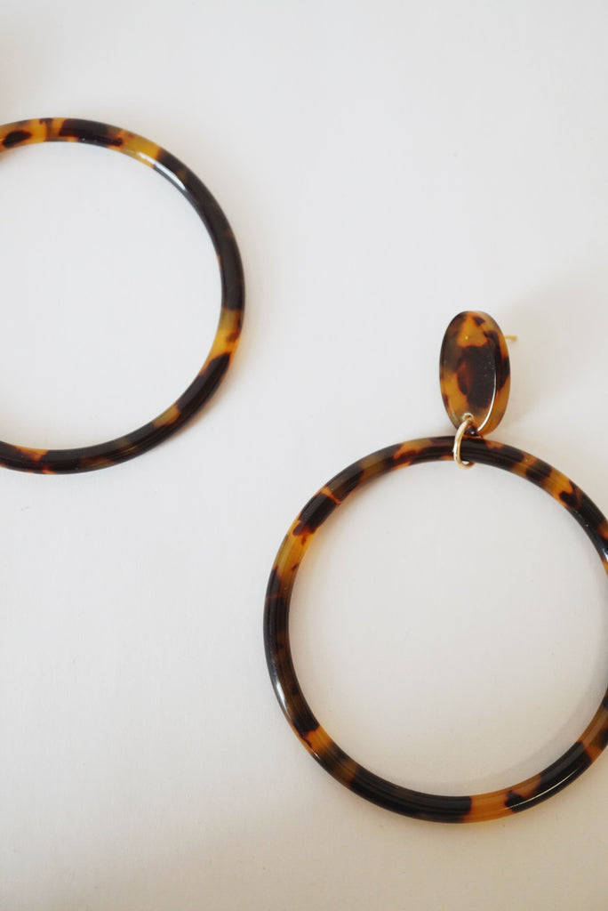Leone Hoop Earrings