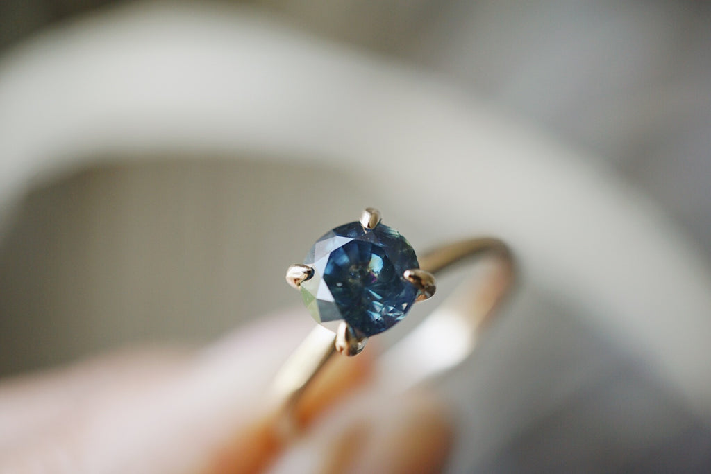 Only One Ring - 1.23ct Montana Sapphire *ready-to-ship