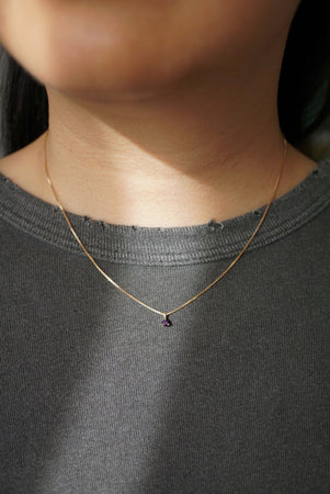 Baby Amethyst Necklace - Foe & Dear