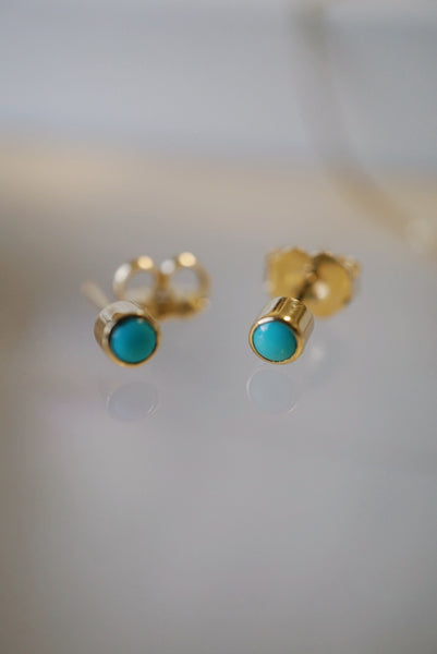 Baby Turquoise Studs