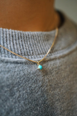Baby Turquoise Necklace