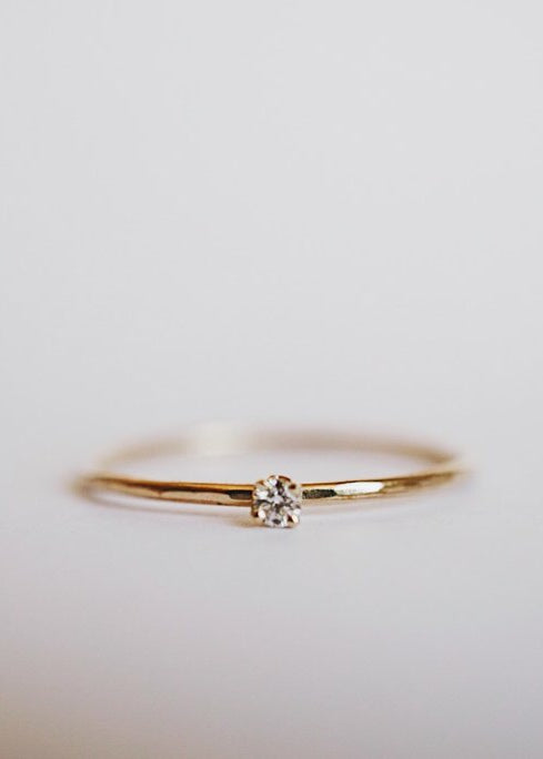 Baby Diamond Ring