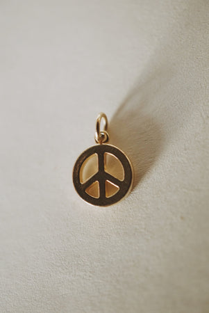 Peace Charm Pendant *preorder closed until 2021