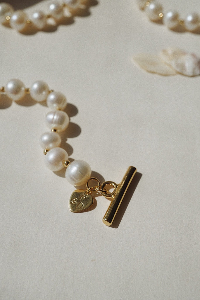 Sienna Necklace - Pearl