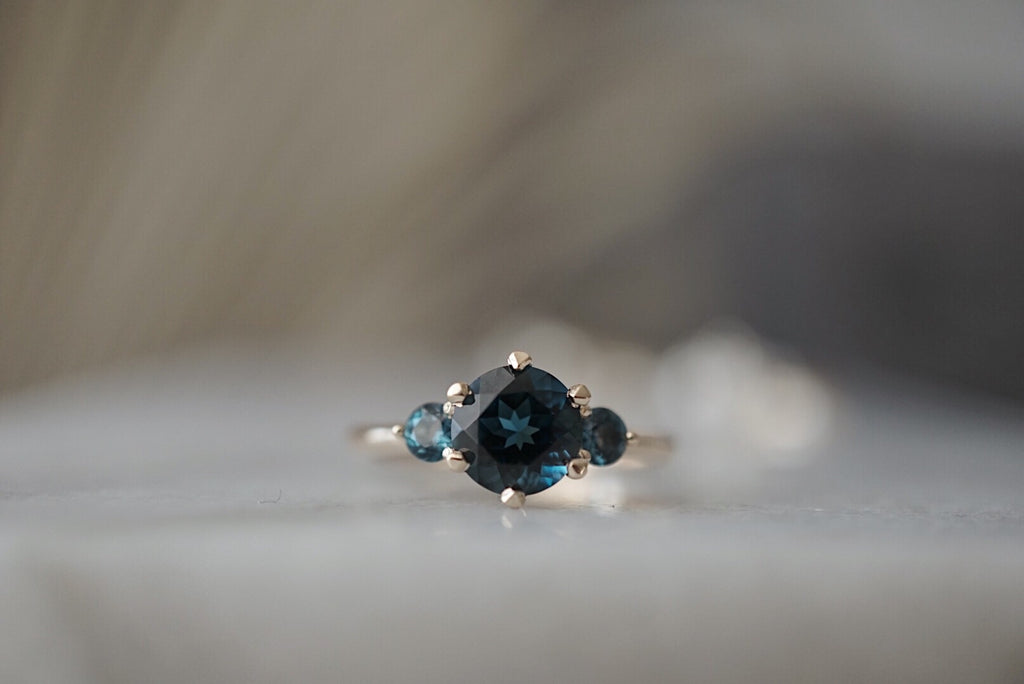 Companions Ring -  London Blue Topaz *ready-to-ship