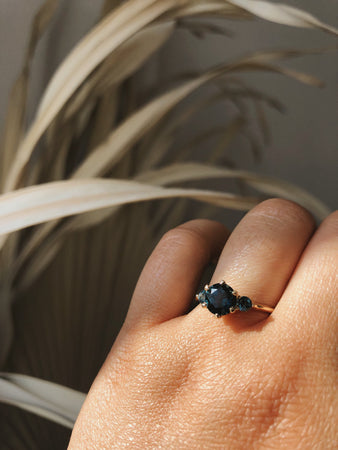 Companions Ring -  London Blue Topaz *SOLD