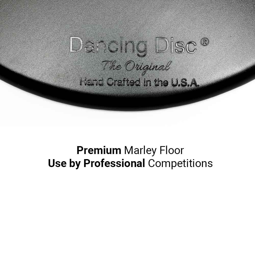 Dancing Disc Large - Dancing Disc Professional Marley Competition Floor for Dancer on the Go 3 Sizes 30 Inches 24 Inches 16 Inches
