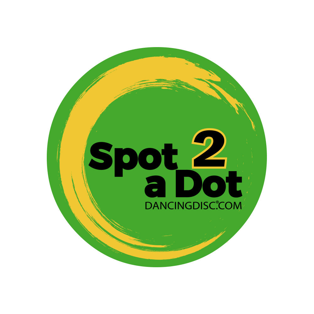 Spot2aDot Spotting Sticker - Dancing Disc Professional Marley Competition Floor for Dancer on the Go 3 Sizes 30 Inches 24 Inches 16 Inches