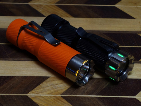 ['Factory' Second] Tritium-Ready HDS EDC Flashlight Bezel