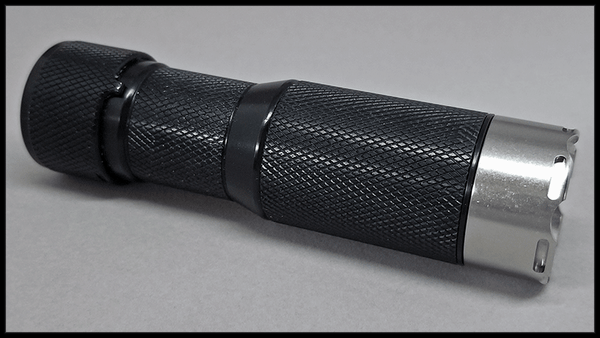 Tritium-Ready HDS EDC Flashlight Bezel