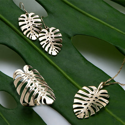 Maui Divers Jewelry Monstera Collection