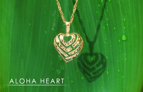 Aloha Heart Hawaiian Jewelry Collection