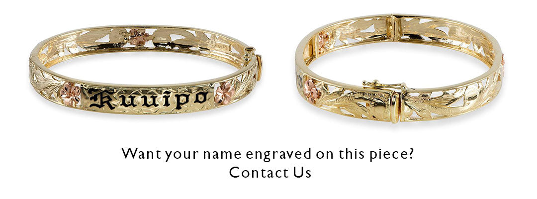 Have you name engraved on this bracelet. Contact us with your request.