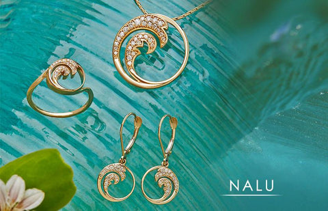 Nalu (Wave) Hawaiian Jewelry Collection