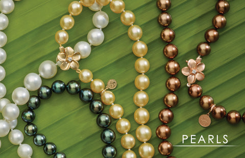 Tahitian Black Pearls, Chocolate Pearls, Freshwater Pearls