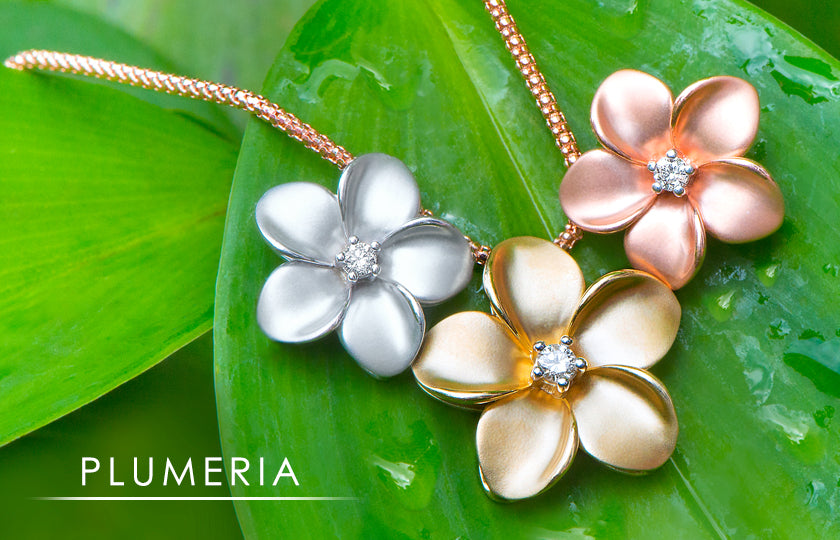Plumeria Hawaiian Jewelry Collection