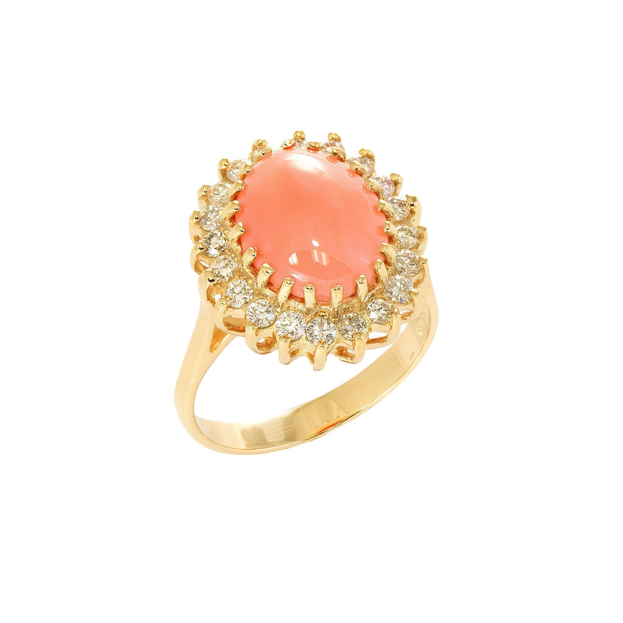 nouveau coral circa cameo a jewels products bijoux rings rggst lovely art ring