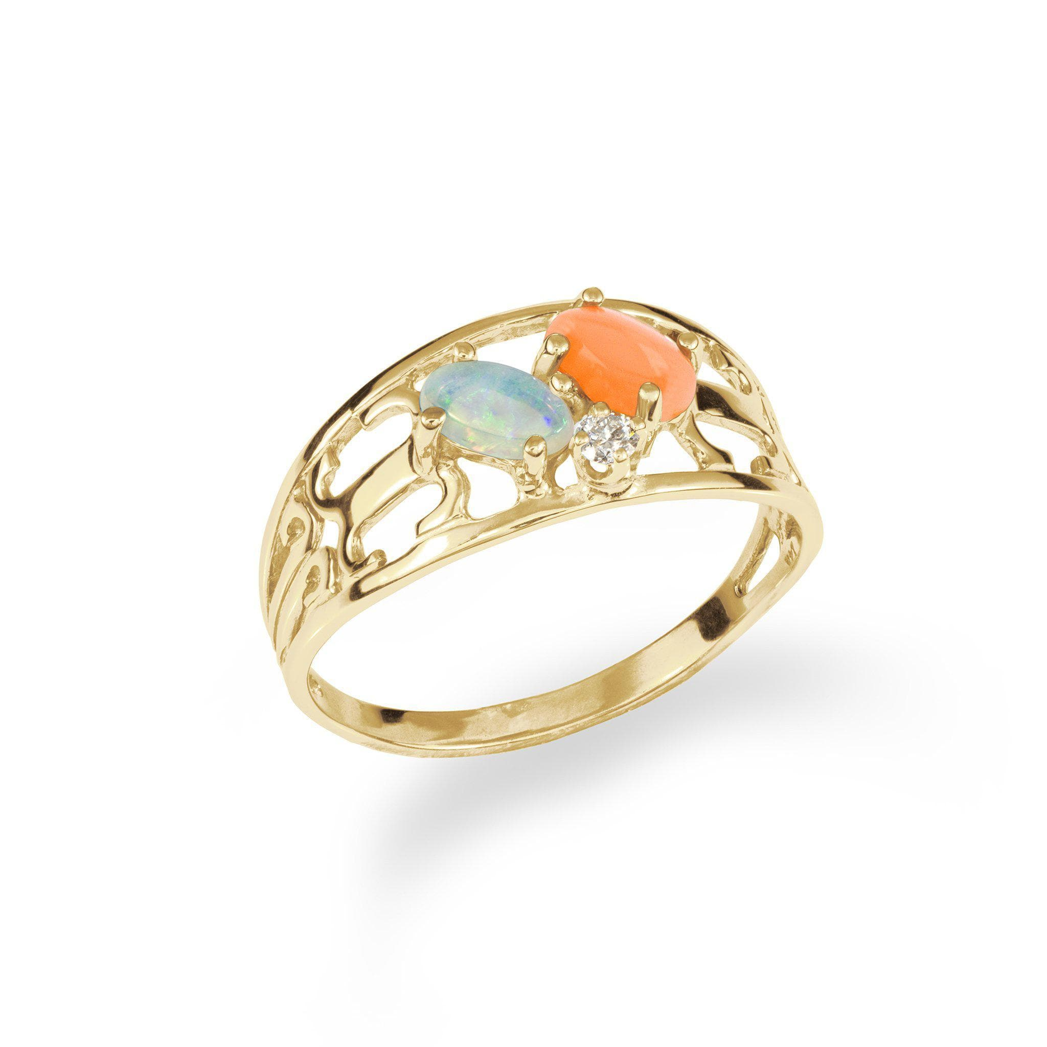 jupiter diamond rings and ring coral
