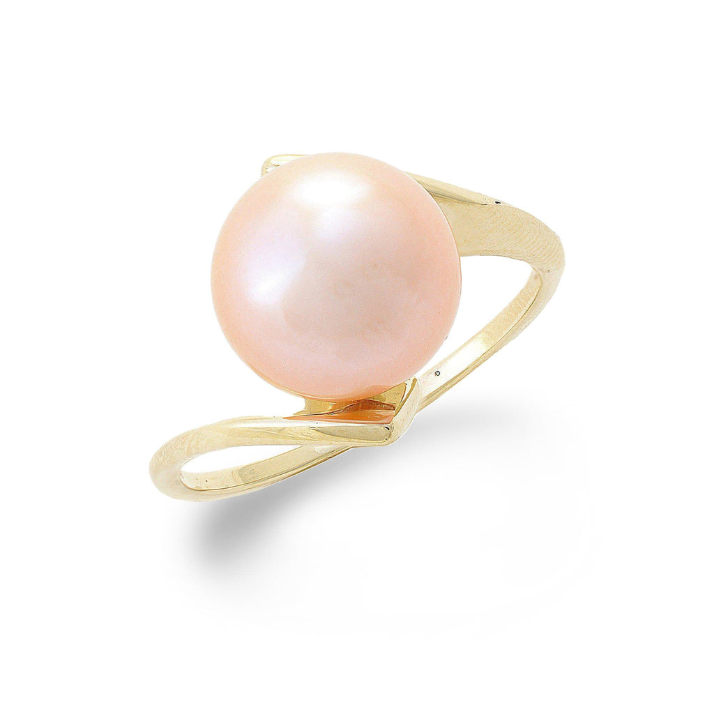 Freshwater Pearl Ring 14K Yellow Gold (9-10mm) 006-14366