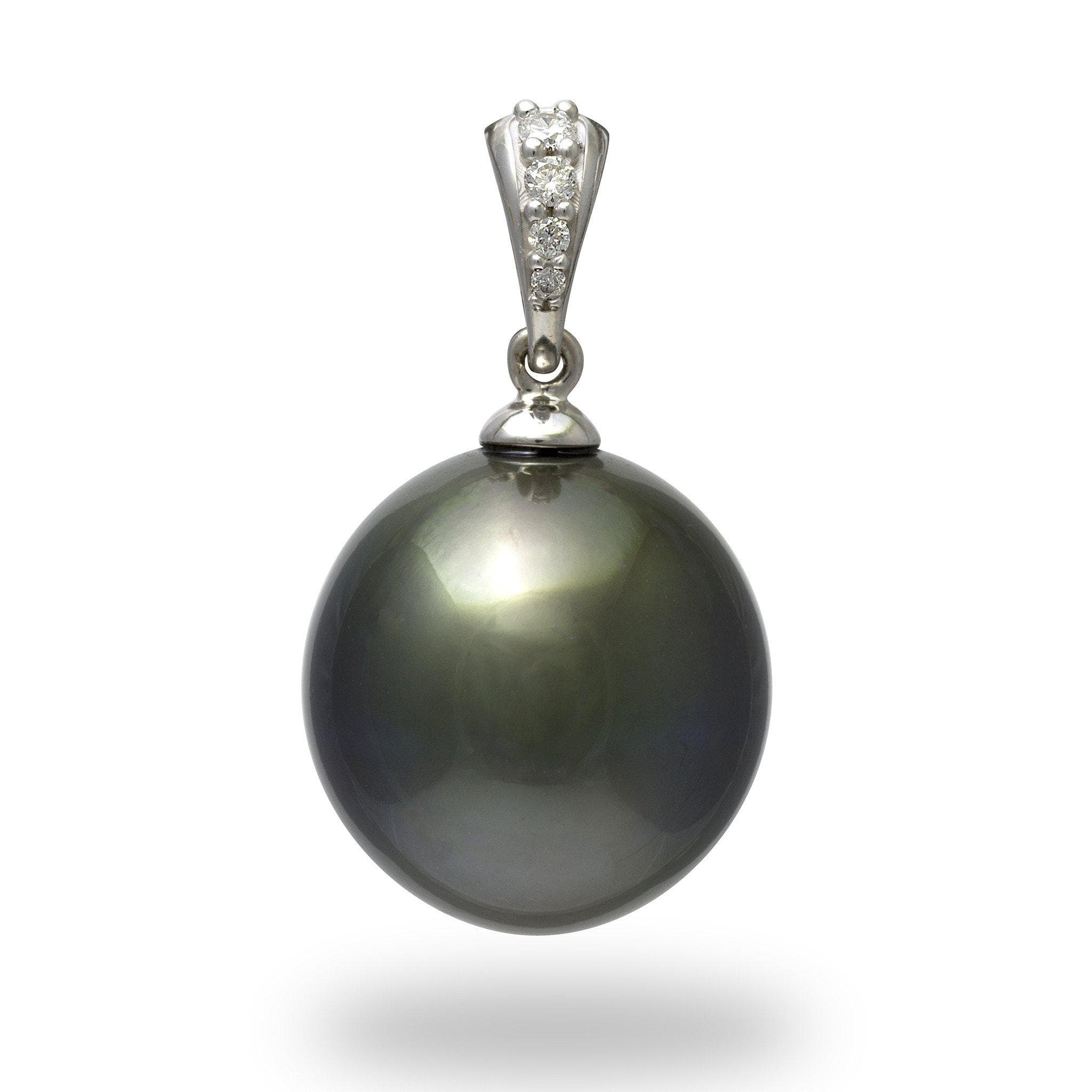 pendant jewelry in pearl mikimoto black necklace lyst product