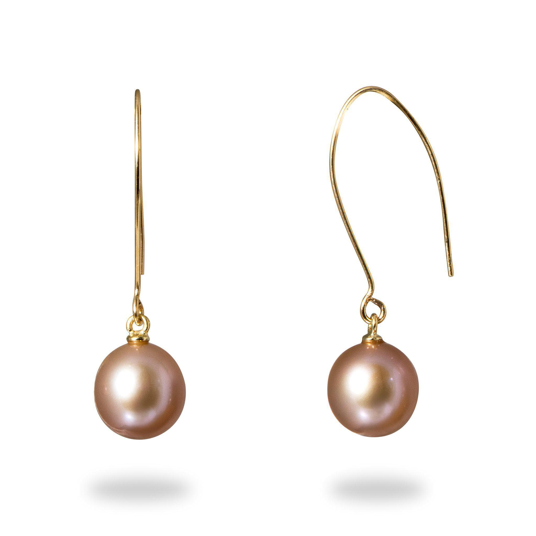 pearl freshwater earrings silver sterling