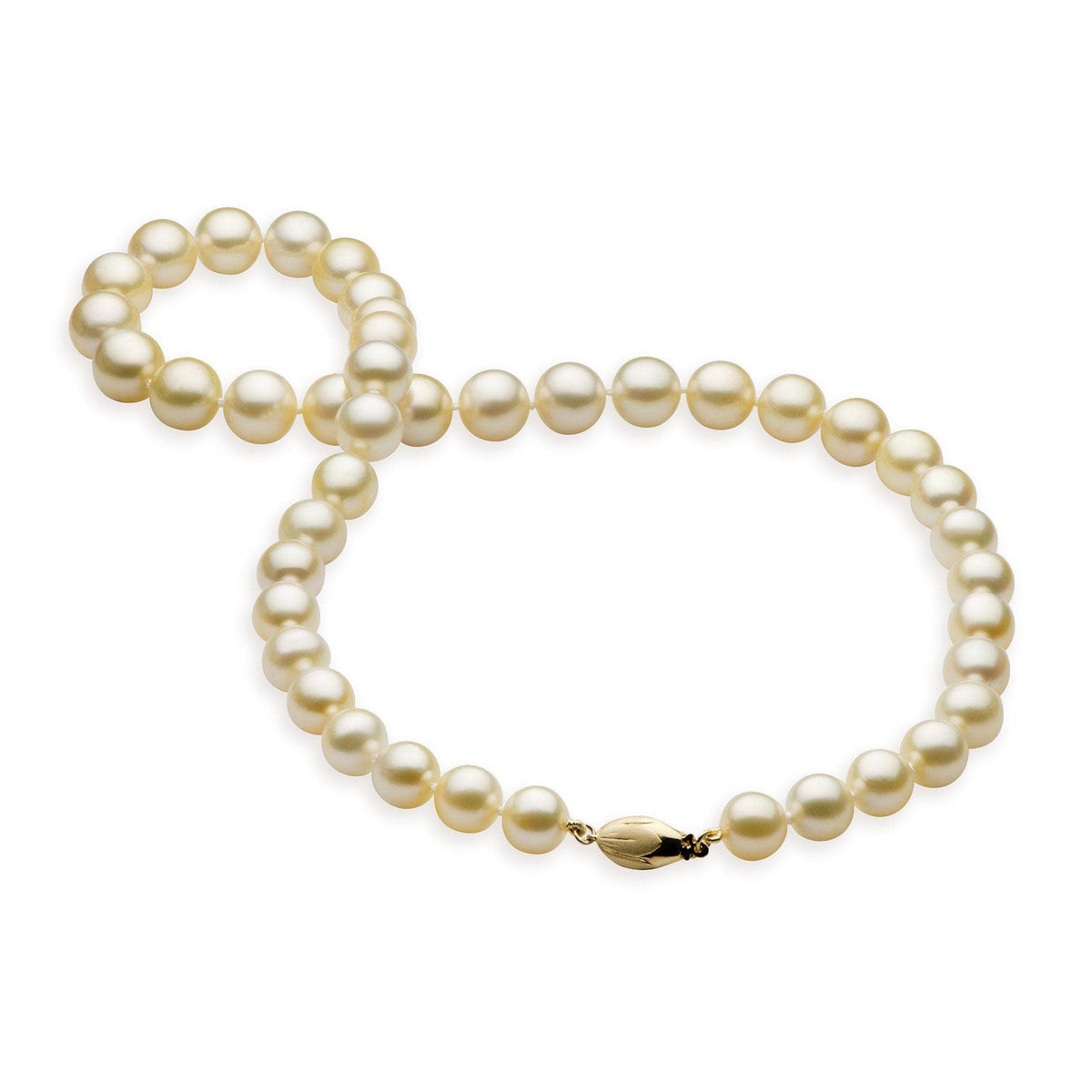 South Sea Pearl Strand in 14K Yellow Gold (8-12mm)