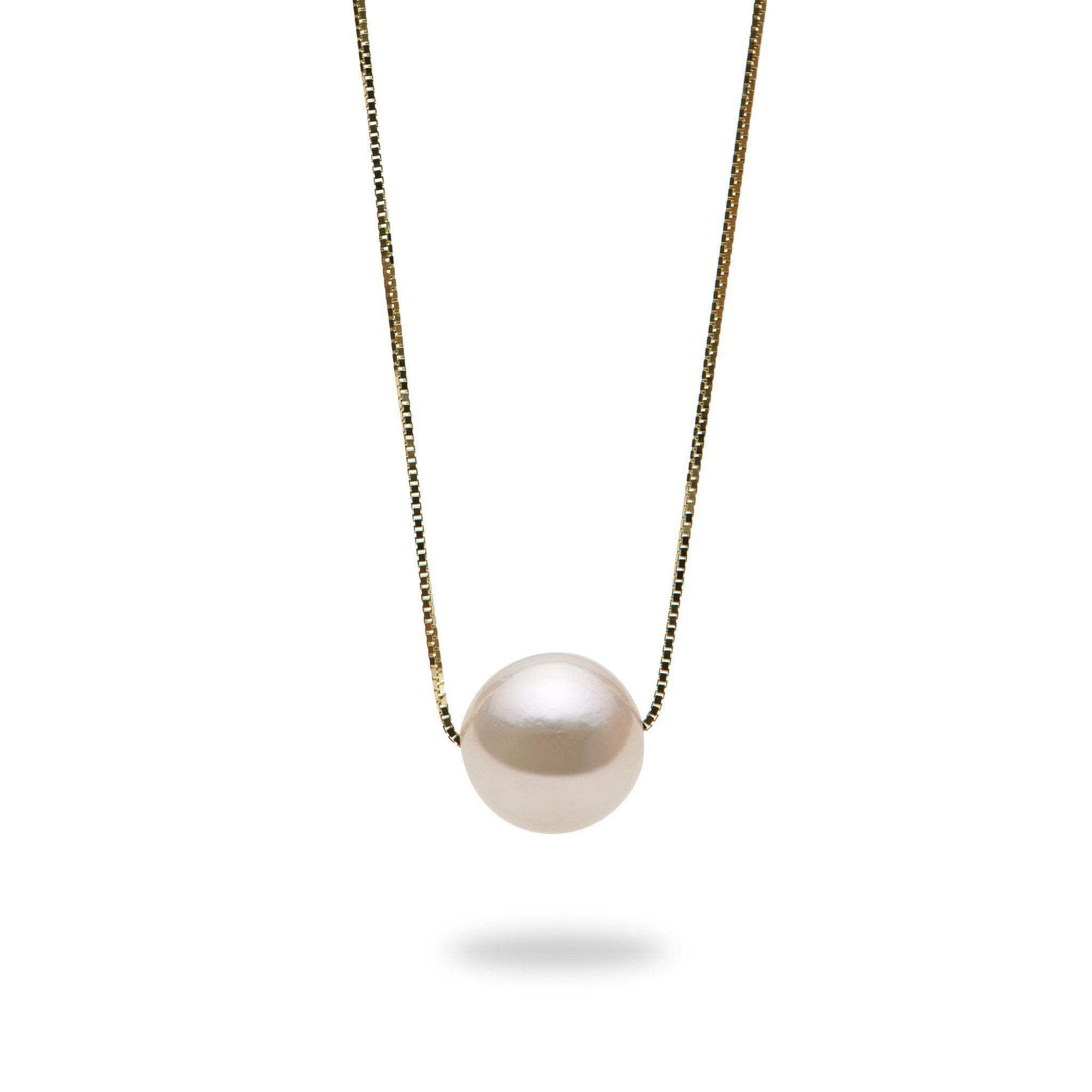 Akoya Pearl (8.5-9mm) Necklace in 14K Yellow  Gold