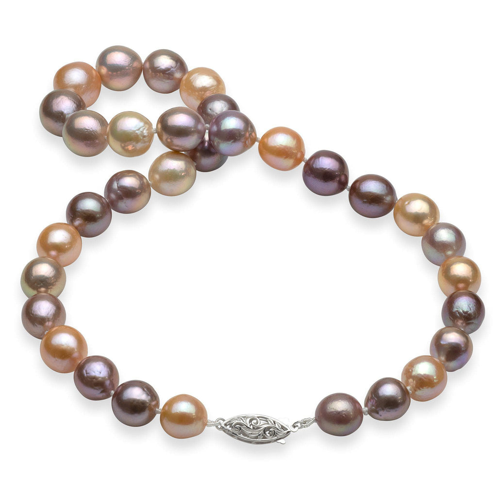 Freshwater Pearl (9-13mm) Strand in 14K White Gold 006-14972