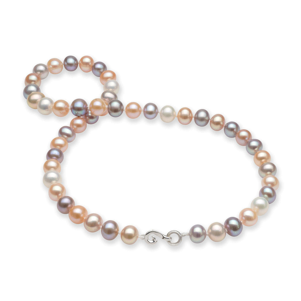 Freshwater Pearl (8-9.5mm) Strand in 14K White Gold 006-14976