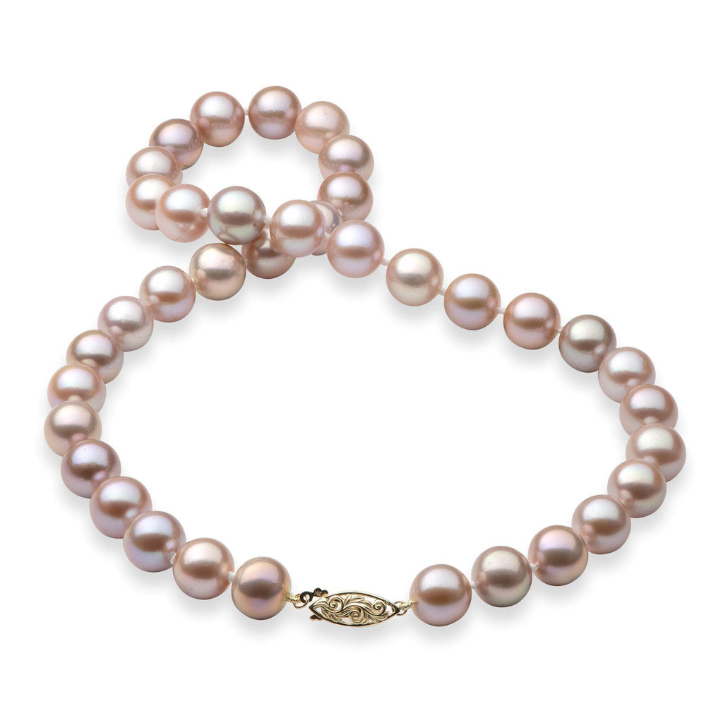 Living Heirloom Freshwater Pearl (11-12mm) Strand in 14k Yellow Gold