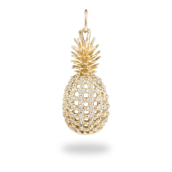 pendant long necklace rachel products jackson london grande highres pineapple